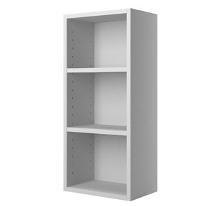 Cooke & Lewis Santini Gloss White Single door Wall Cabinet (W)300mm (H)672mm