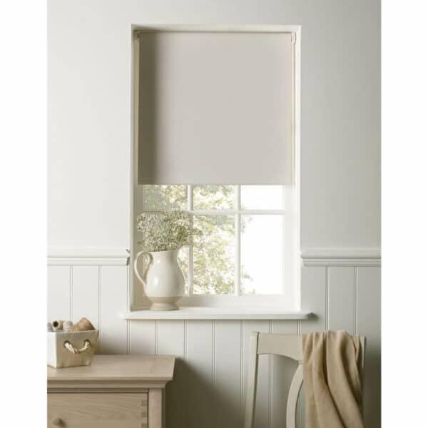 Cotton Colour Blackout Blind - 120cm