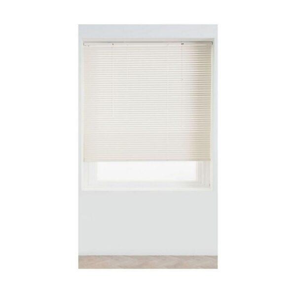 Cream Aluminium 25mm Venetian Blind - 180cm