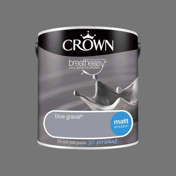 Crown Standard Matt Emulsion - Blue Gravel - 2.5L
