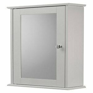 Croydex Wooden Single Bathroom Cabinet