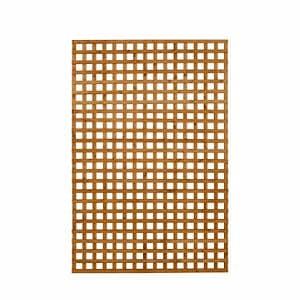 Dip treated Trellis panel (W)1.22m (H)1.83m Pack of 3