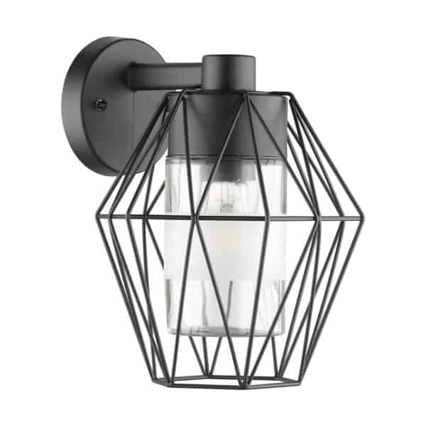 EGLO Canove Caged Exterior Wall Light