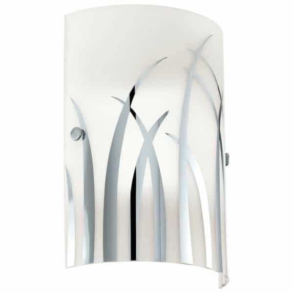 Eglo Rivato Wall Light - Chrome & White
