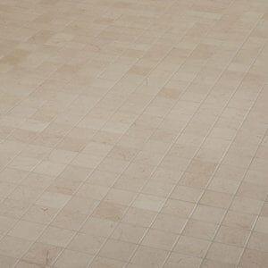 Elegance Beige Marble effect Mosaic Ceramic Mosaic tile (L)300mm (W)300mm