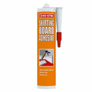 Evo-Stik Solvent-free Acrylic-based Buff Skirting board Adhesive 310ml