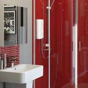 Fonteno Double door Mirrored Cabinet (W)600mm (D)550mm