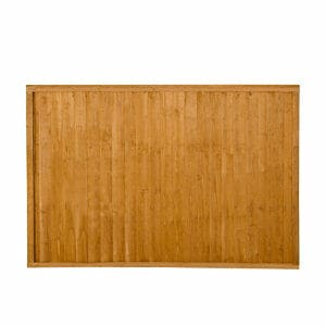 Forest Garden Closeboard Dip treated Fence panel (W)1.83m (H)1.22m Pack of 3