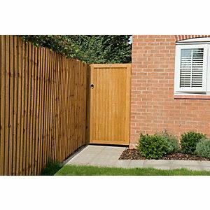 Forest Garden Closeboard Heavy Duty Timber Gate - 914 x 1815 mm