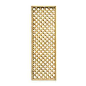 Forest Garden Diamond Trellis panel (W)0.61m (H)1.83m