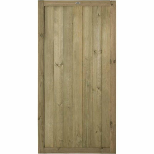 Forest Garden Forest 6ft Vertical Tongue & Groove Gate Wooden