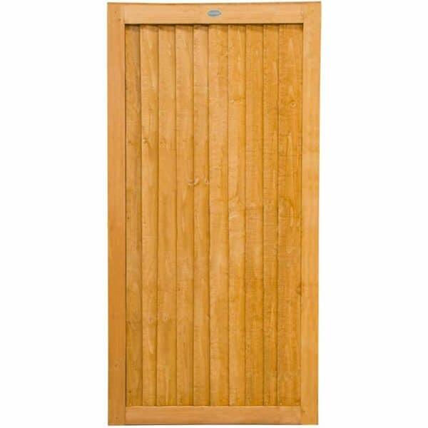 Forest Garden Forest Board Gate 6ft Wooden