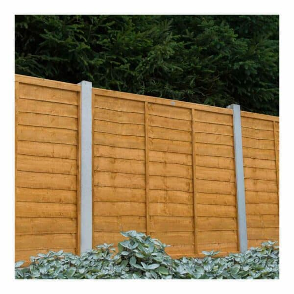 Forest Garden Trade Lap Fence Panel 6 x 5ft Mixed Softwood