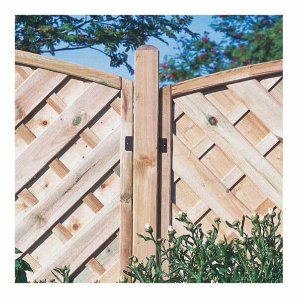 Forest Garden Ultima Fence Post 8ft (240 x 7 x 7cm ) Mixed Softwood