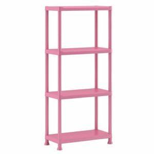 Form Flexi-Store Pink Shelving Unit (H)1350mm (W)600mm