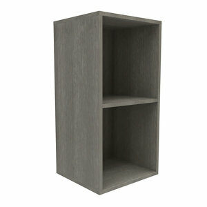 Form Konnect Grey oak effect 2 Cube Shelving unit (H)692mm (W)352mm (D)317mm