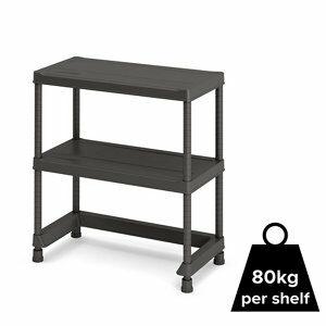 Form Links 2 shelf Polypropylene Shelving unit (H)970mm (W)900mm