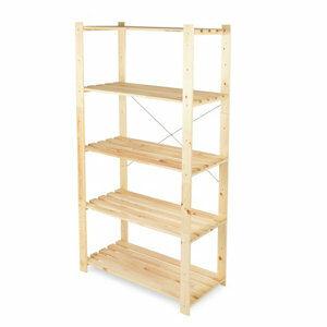 Form Symbios 5 shelf Wood Shelving unit (H)1700mm (W)900mm