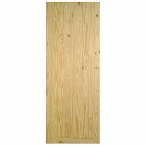 Framed ledged & braced Knotty pine LH & RH External Front Door (H)1981mm (W)838mm