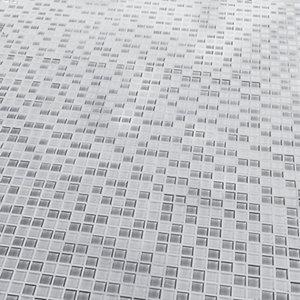 Glina Grey Glass Mosaic tile sheets (L)300mm (W)300mm