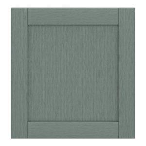 GoodHome Alpinia Matt Green Painted Wood Effect Shaker Appliance Cabinet door (W)600mm