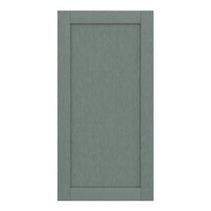 GoodHome Alpinia Matt Green Painted Wood Effect Shaker Tall larder Cabinet door (W)600mm