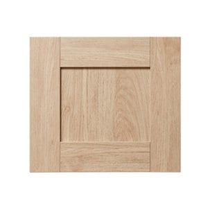 GoodHome Alpinia Oak effect shaker Drawer front bridging door & bi fold door (W)400mm