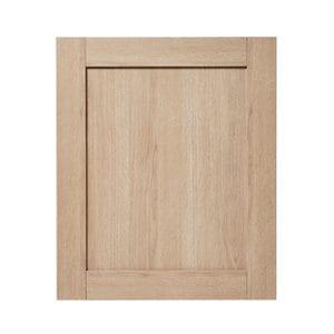 GoodHome Alpinia Oak effect shaker Highline Cabinet door (W)600mm