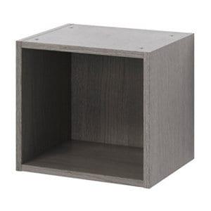 GoodHome Caraway Oak effect Grey Bridging Wall cabinet (W)400mm