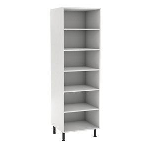 GoodHome Caraway White Standard Larder cabinet (W)600mm