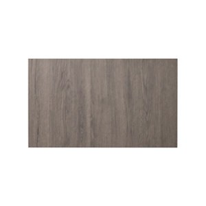 GoodHome Chia Grey oak effect slab Drawer front bridging door & bi fold door (W)600mm