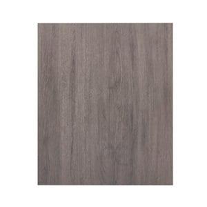 GoodHome Chia Grey oak effect slab Highline Cabinet door (W)600mm
