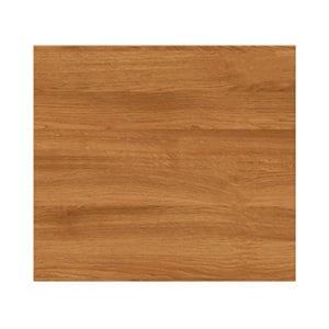 GoodHome Chia Horizontal woodgrain effect slab Drawer front bridging door & bi fold door (W)400mm