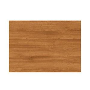GoodHome Chia Horizontal woodgrain effect slab Drawer front bridging door & bi fold door (W)500mm