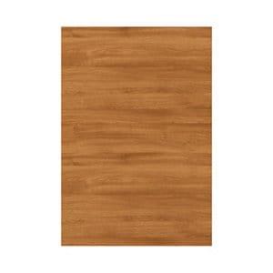 GoodHome Chia Horizontal woodgrain effect slab Tall wall Cabinet door (W)600mm