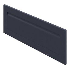 GoodHome Garcinia Matt navy blue shaker Drawer front bridging door & bi fold door (W)1000mm