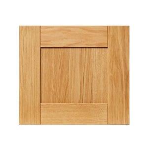 GoodHome Verbena Natural oak shaker Drawer front bridging door & bi fold door (W)400mm