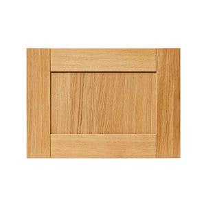 GoodHome Verbena Natural oak shaker Drawer front bridging door & bi fold door (W)500mm