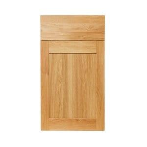 GoodHome Verbena Natural oak shaker Drawerline door & drawer front (W)400mm