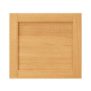 GoodHome Verbena Natural oak shaker Tall appliance Cabinet door (W)600mm