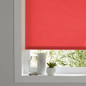 Halo Corded Red Plain Roller Blind (W)180cm (L)180cm