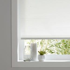 Halo Corded White Plain Roller Blind (W)120cm (L)180cm