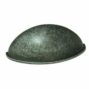 Hammered Pewter effect Zinc alloy Cabinet Pull handle