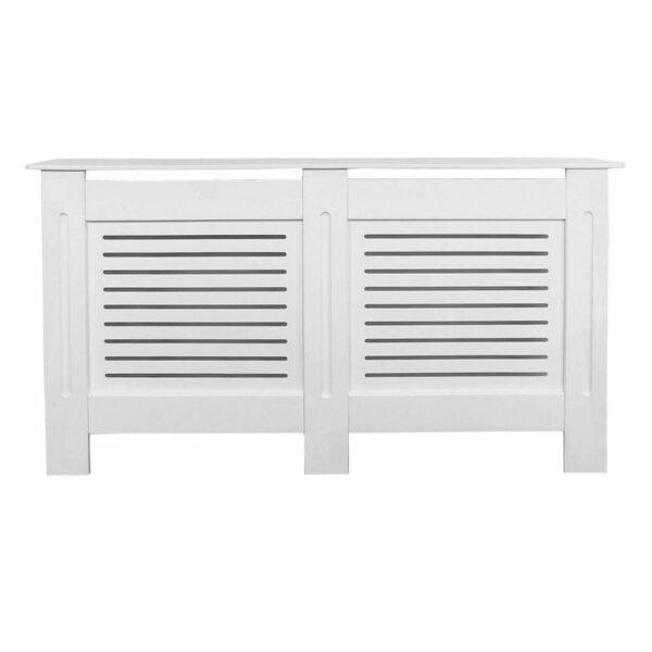 Horizontal White Radiator Cover - Large