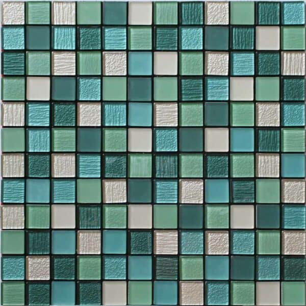 House of Mosaics Acapulco Self Adhesive Mosaic Tile Glass