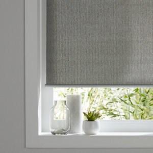 Iggy Corded Grey Plain Roller Blind (W)60cm (L)180cm