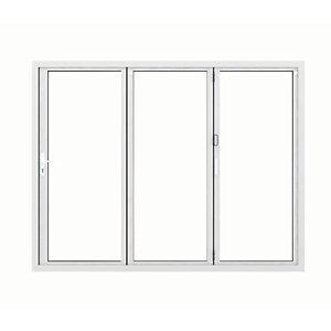 Jci Aluminium Bi-fold Door Set White Left Opening 2090 x 2390mm