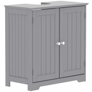 Lassic Rebecca Jones Matt Grey Double door Sink cabinet (W)600mm