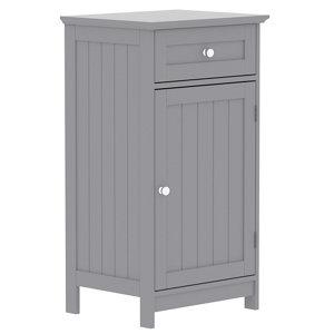 Lassic Rebecca Jones Matt Grey Single door Drawer cabinet (W)430mm