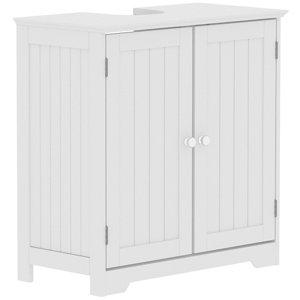 Lassic Rebecca Jones Matt White Double door Sink cabinet (W)600mm